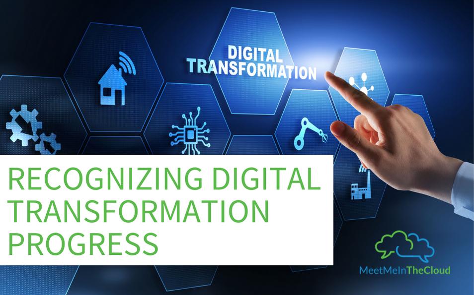 digital transformation progress