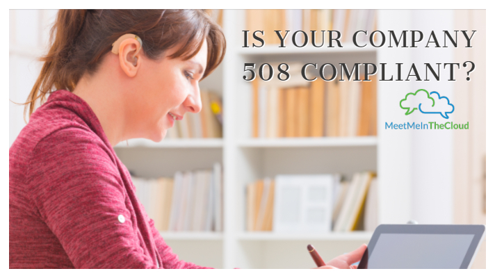 Is Your Company 508 Compliant?
