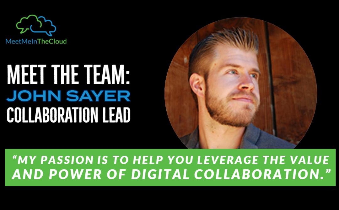 Meet the Team: Collaboration Lead & Expert – John Sayer